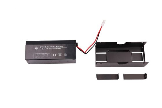 China 24V 3.5Ah Garage Door Opener Battery Lead - Acid Material Black Color supplier