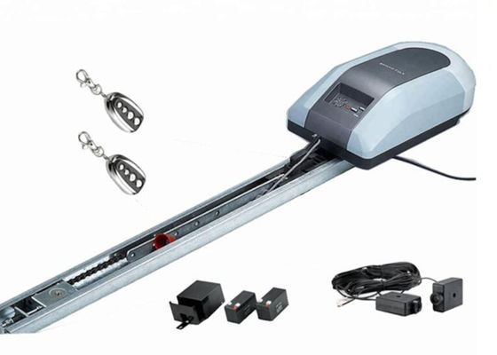 China Chain Drive Sliding Garage Door Opener , 800N Force Silent Garage Opener supplier